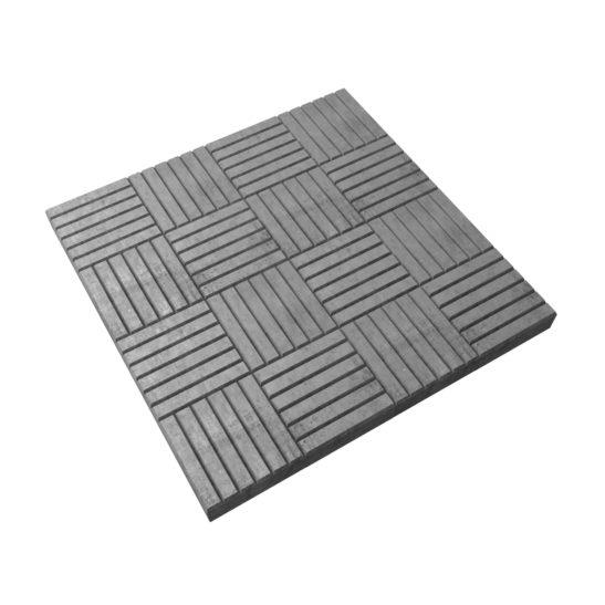 Тротуарная плитка «Паркет» 300х300х30 мм.