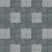Волна два оттенка серого цвета