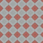 Клевер краковский кирпичный и серый цвет