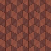 Ромб кирпично-коричневый и  кирпичный цвет
