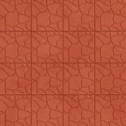 Плитка Тучка — кирпичный цвет