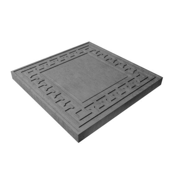 Тротуарная плитка «Орнамент» 300х300х30 мм.