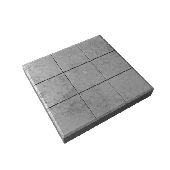 Тротуарная плитка «Сетка» 300x300x30 мм.
