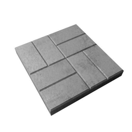 Тротуарная плитка «Восемь кирпичей» 300х300х30 мм. и 400х400х50 мм.