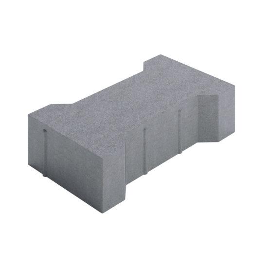 Тротуарная плитка «Катушка» 200х165х80 мм.