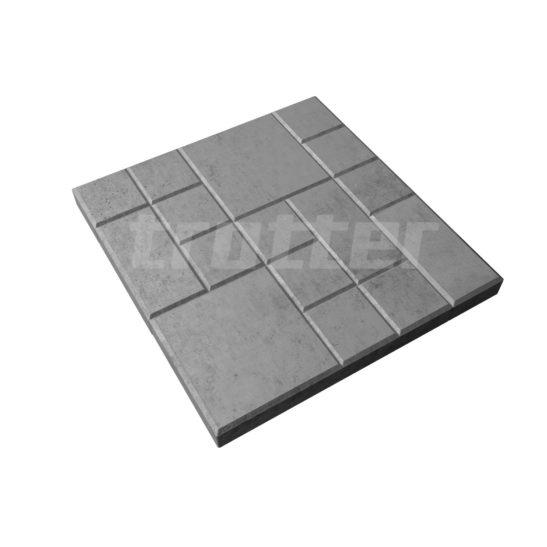 Тротуарная плитка Сетка 250х250