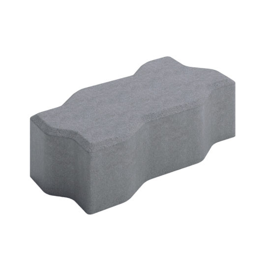 Тротуарная плитка «Волна» 225х112х60