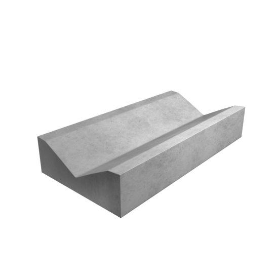 бетонный водосток прикромочный