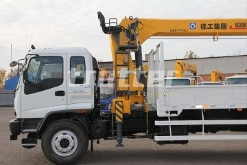 перевозка на грузовом автомобиле с краном манипулятором