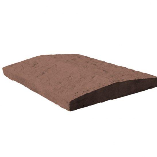 крышка для забора коричневая